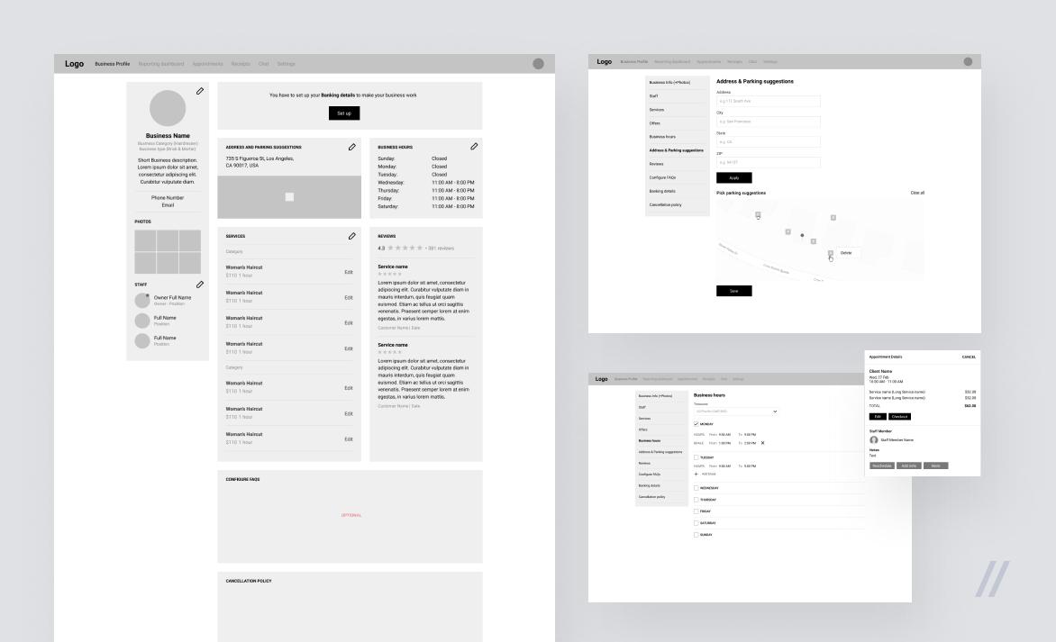 Дизайн MVP: черно-белые прототипы