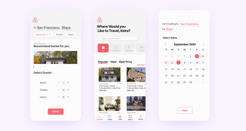 best react native apps — airbnb