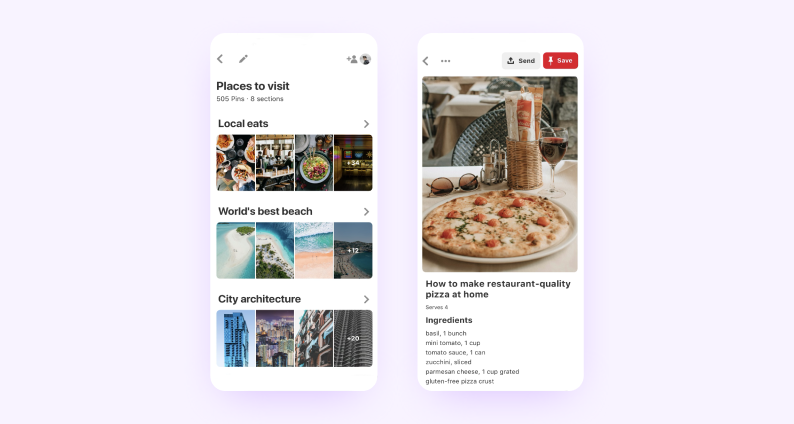 best react native apps — pinterest