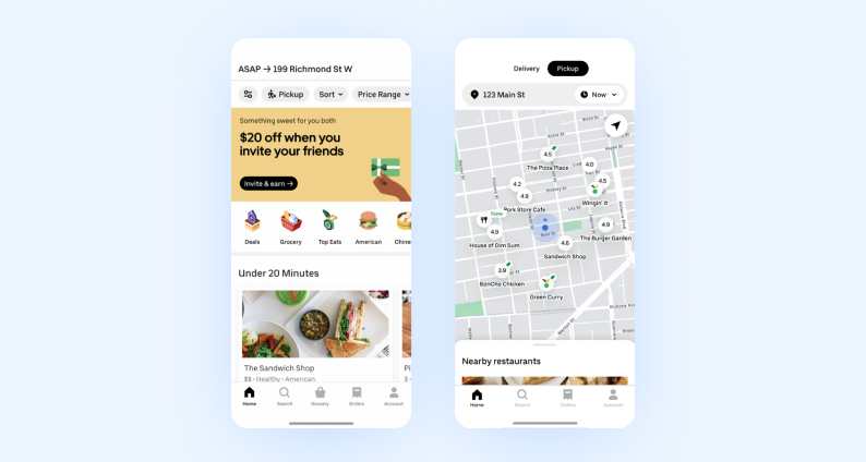 best react native apps — ubereats
