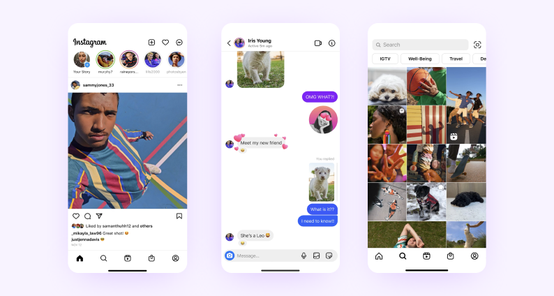 best react native apps — instagram