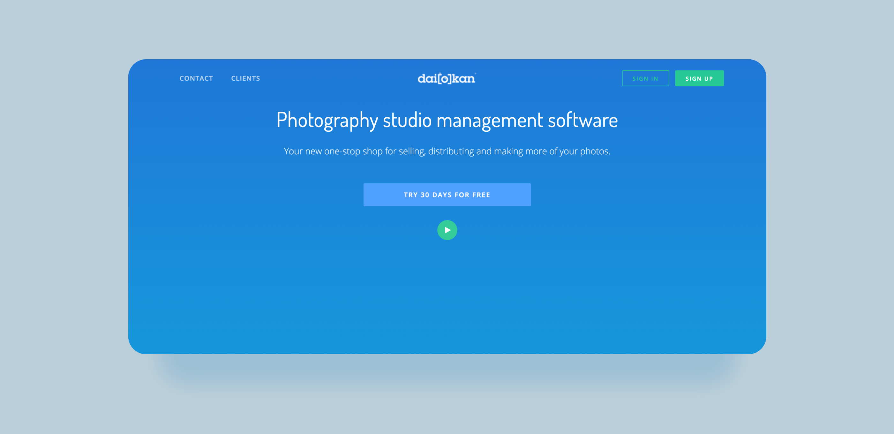 marketplace for photographers development