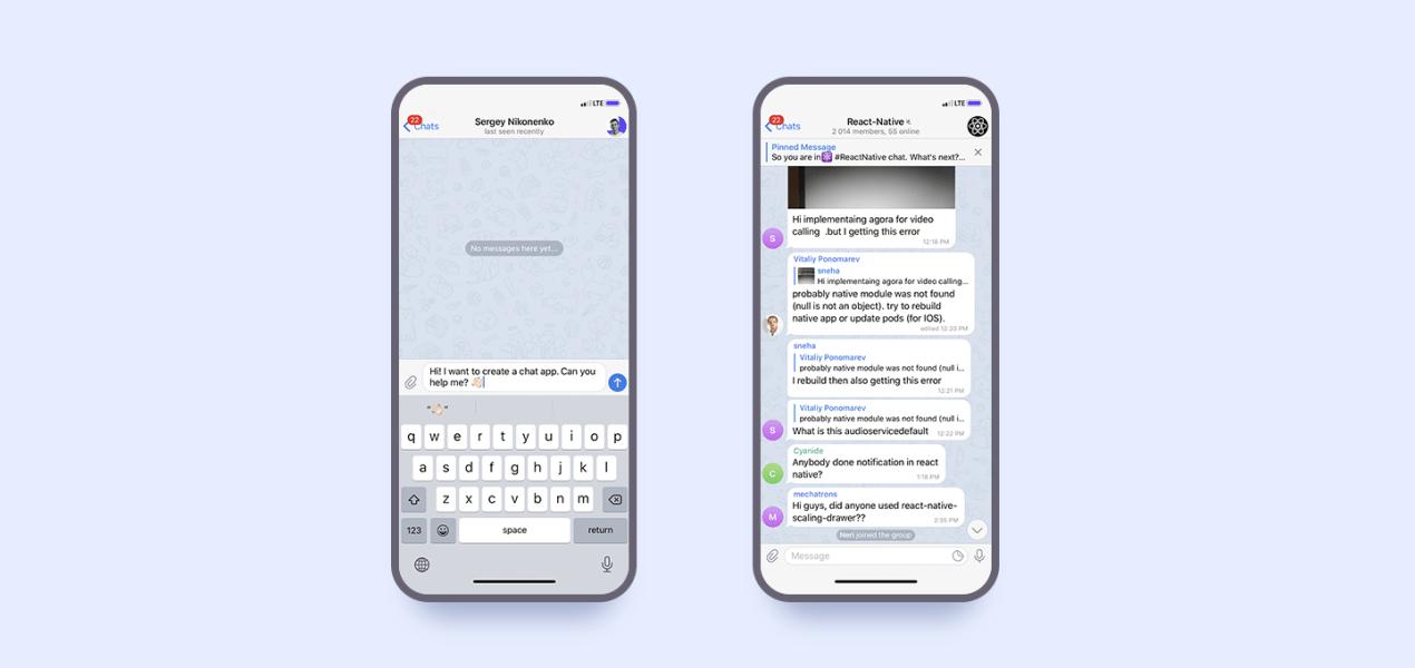 how to make a messenger app