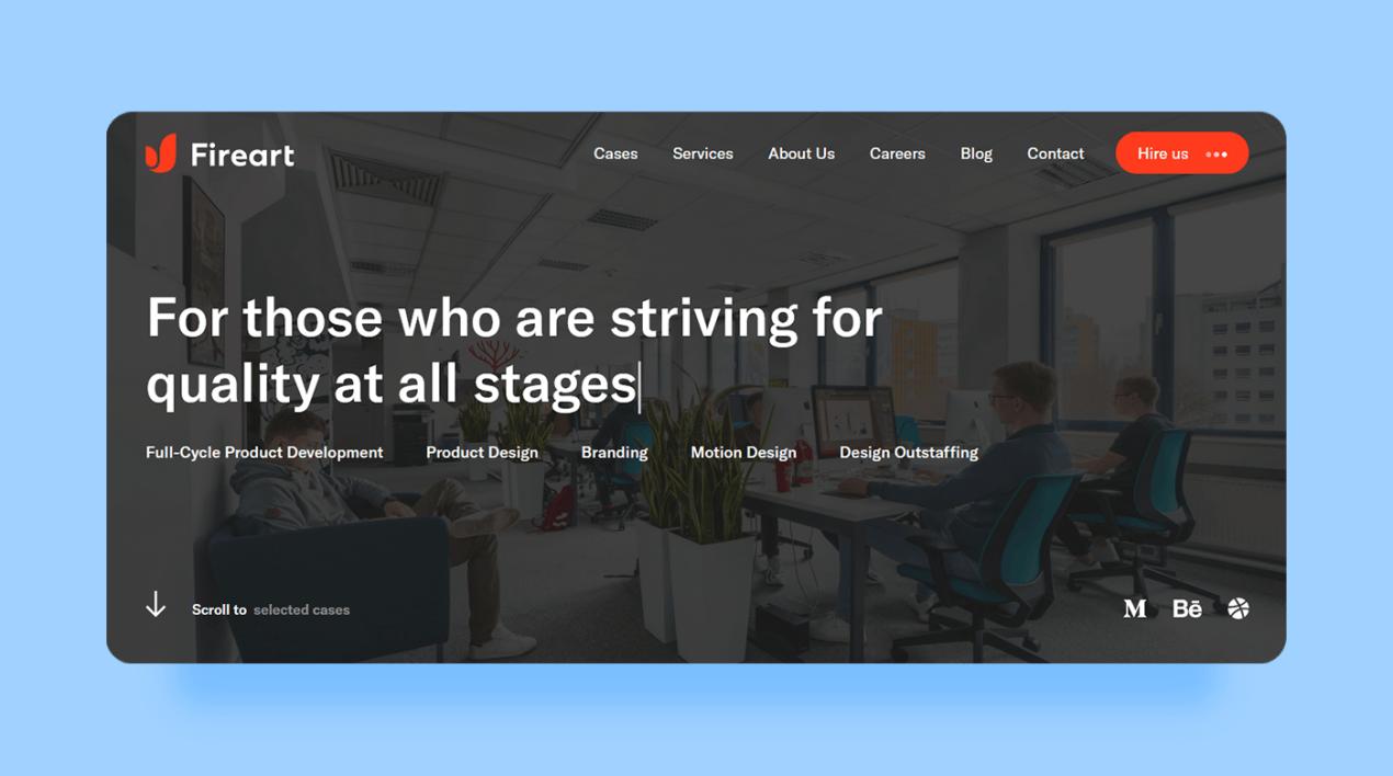 Top UX Agencies - Fireart Studio