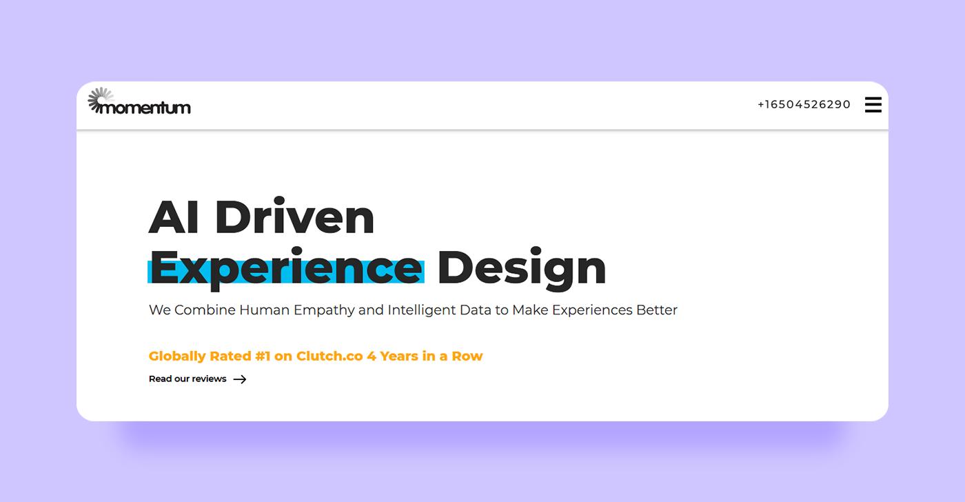 Top UX Agencies - Momentum Design Lab