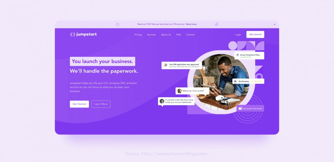 jumpstart — rapid development