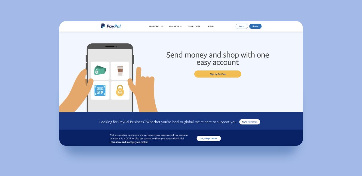 develop peer-to-peer payment app