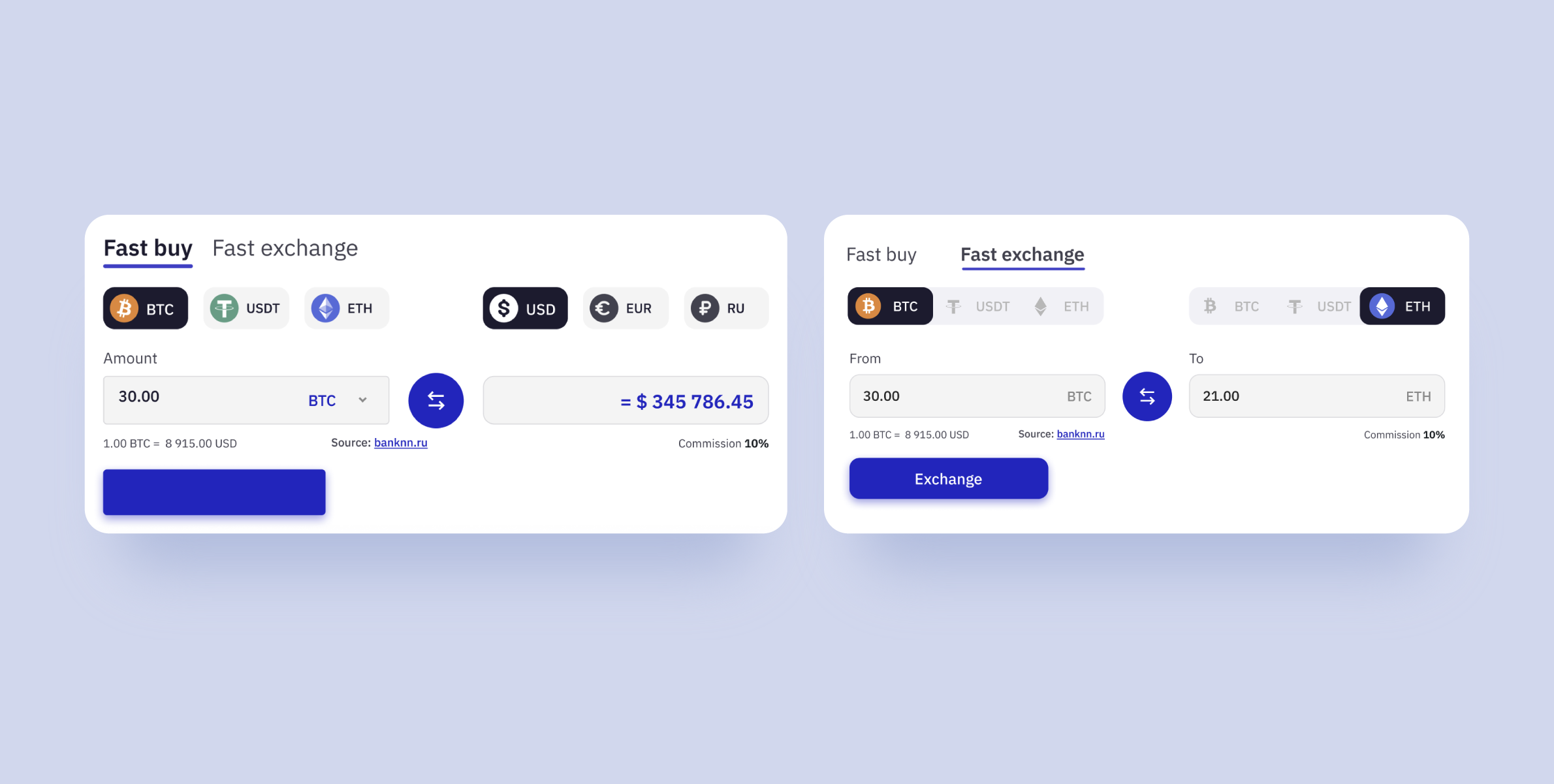 cryptocurrency wallet development: new icons