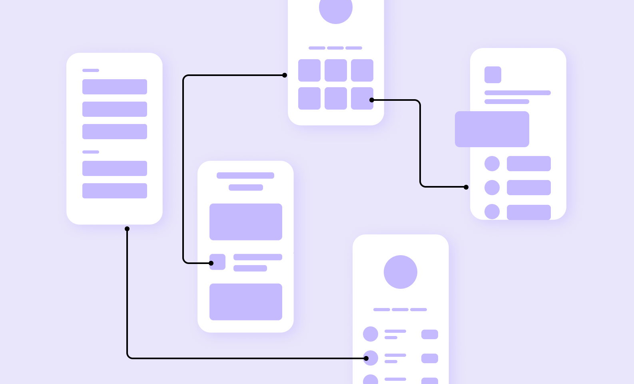 UI/UX development for startups: wireframes