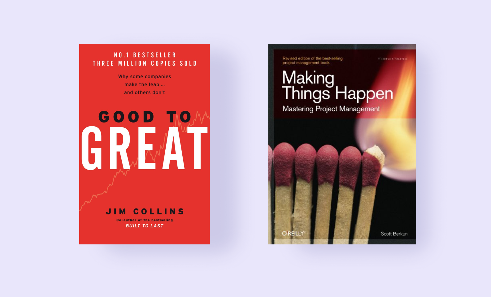 Good to Great and Making Things Happen — best project management books