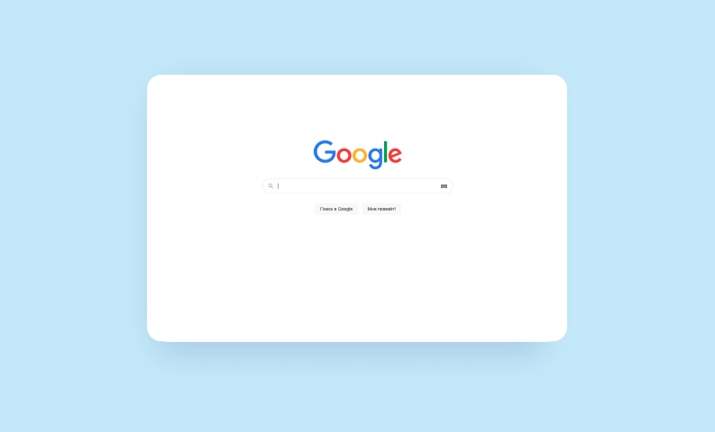 ui дизайн приложений google