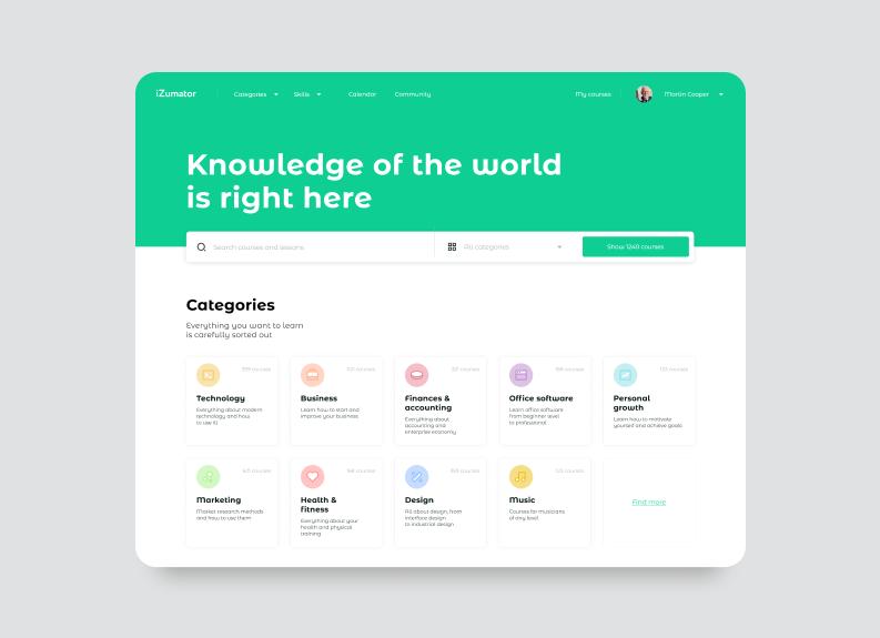 online education platforms redesign