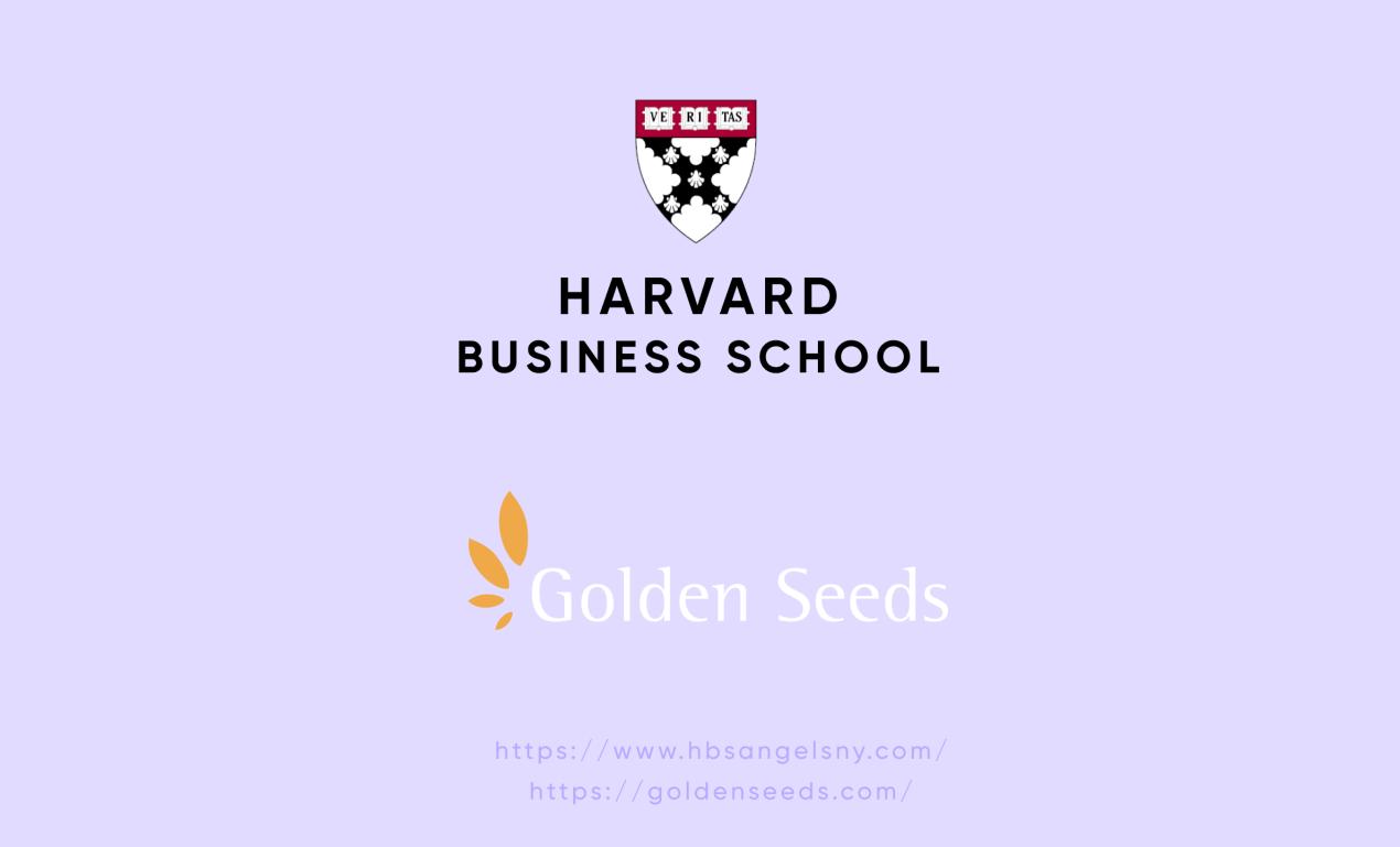 nyc angel investors — Harvard Business School Angels & Golden Seeds