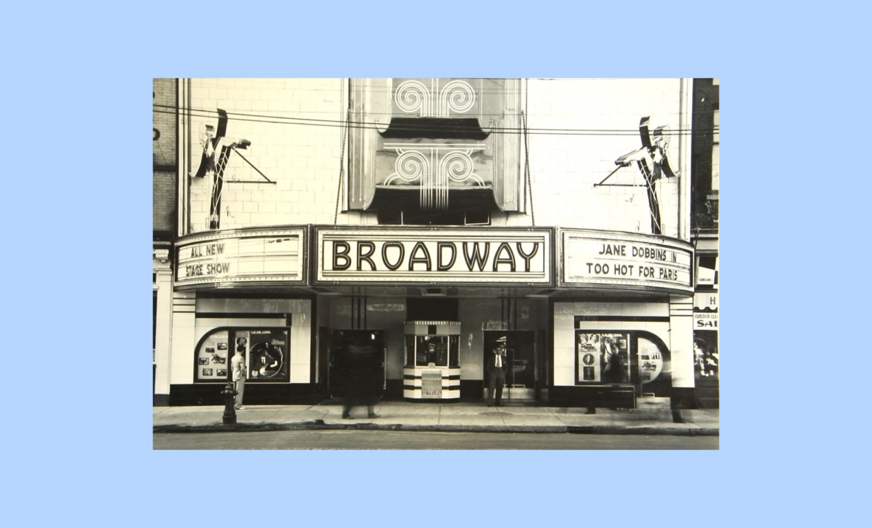 Old Broadway theatre where NYC angel investors came from