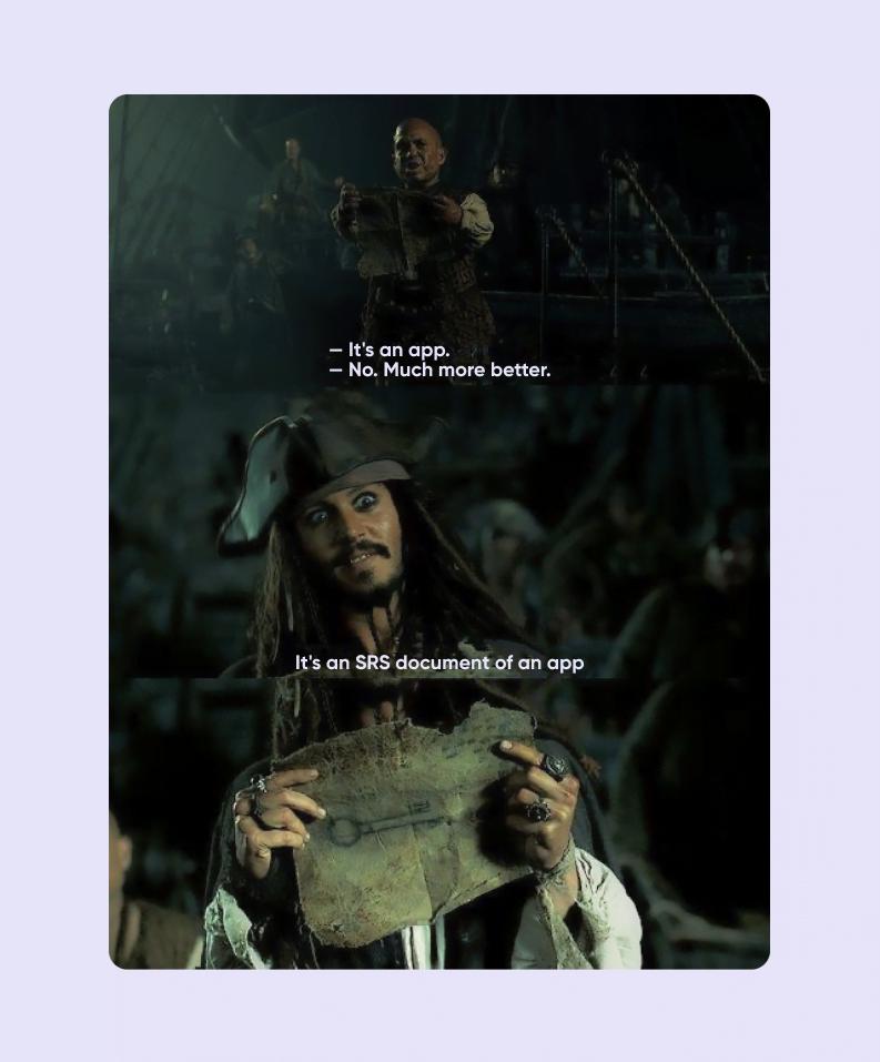 captain jack sparrow meme srs document