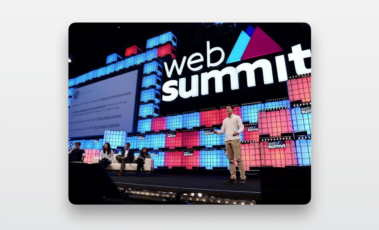 startup events — web summit