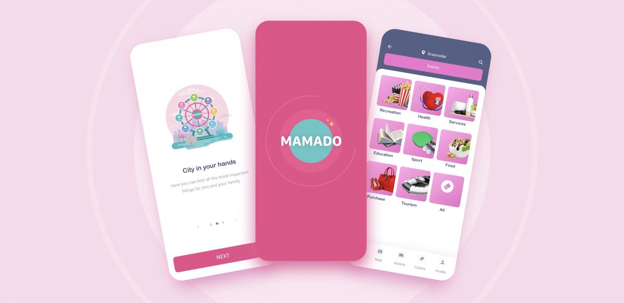 Outsource app development. Mamado case study